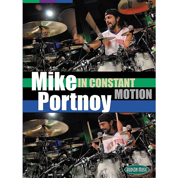 Hudson Music Mike Portnoy In Constant Motion 3 DVD Set
