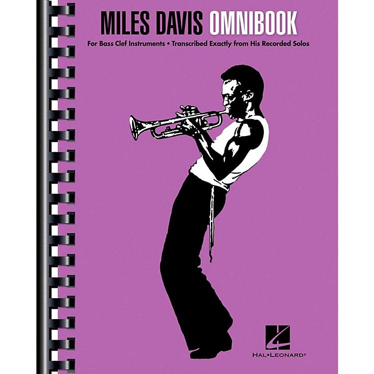 Hal LeonardMiles Davis Omnibook For Bass Clef Instruments