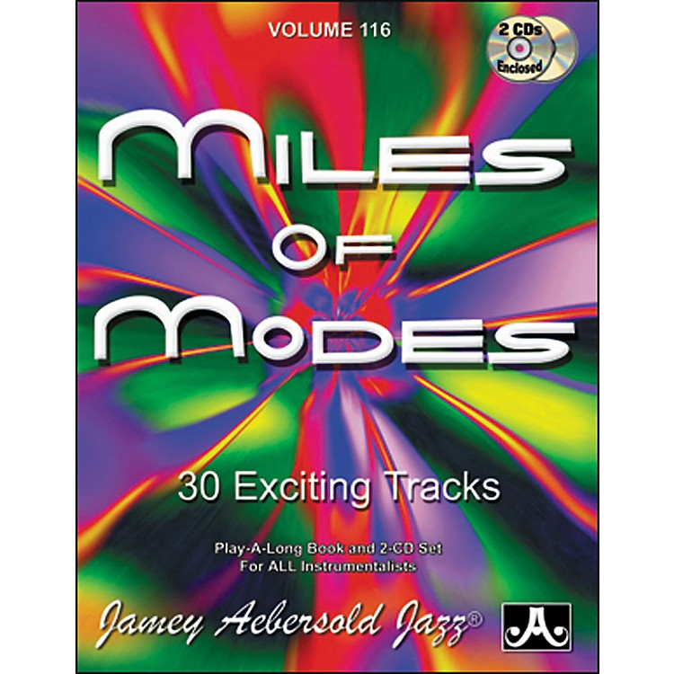 Jamey Aebersold Miles of Modes Play-Along Book and CDs