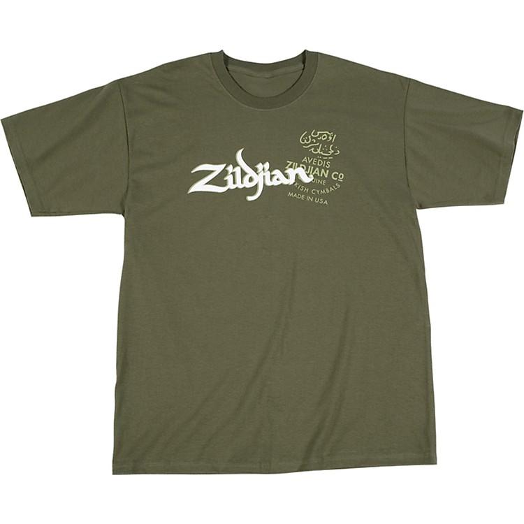 ZildjianMilitary Green T-Shirt