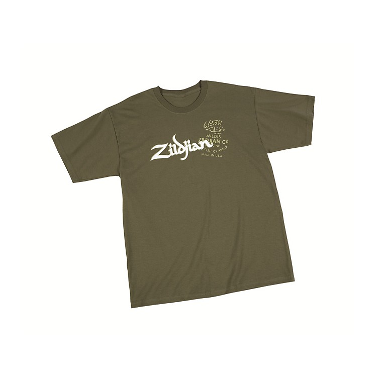 Zildjian Military T-Shirt Green XXX Large