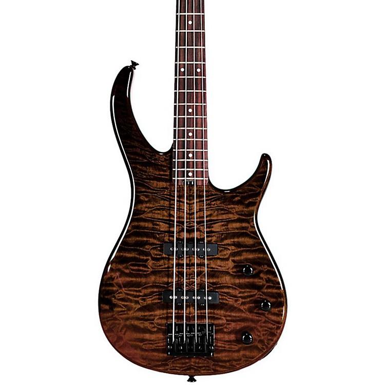 PeaveyMillennium BXP 4-String Bass Guitar Quilt TopTiger Eye