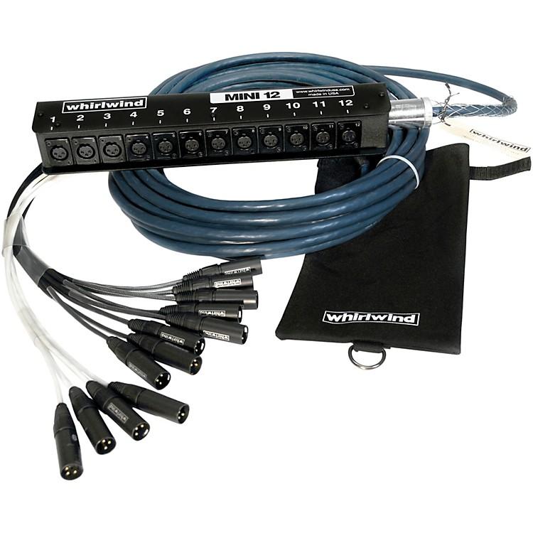 WhirlwindMini 12 Low Profile Audio Drop Snake 12 X 12