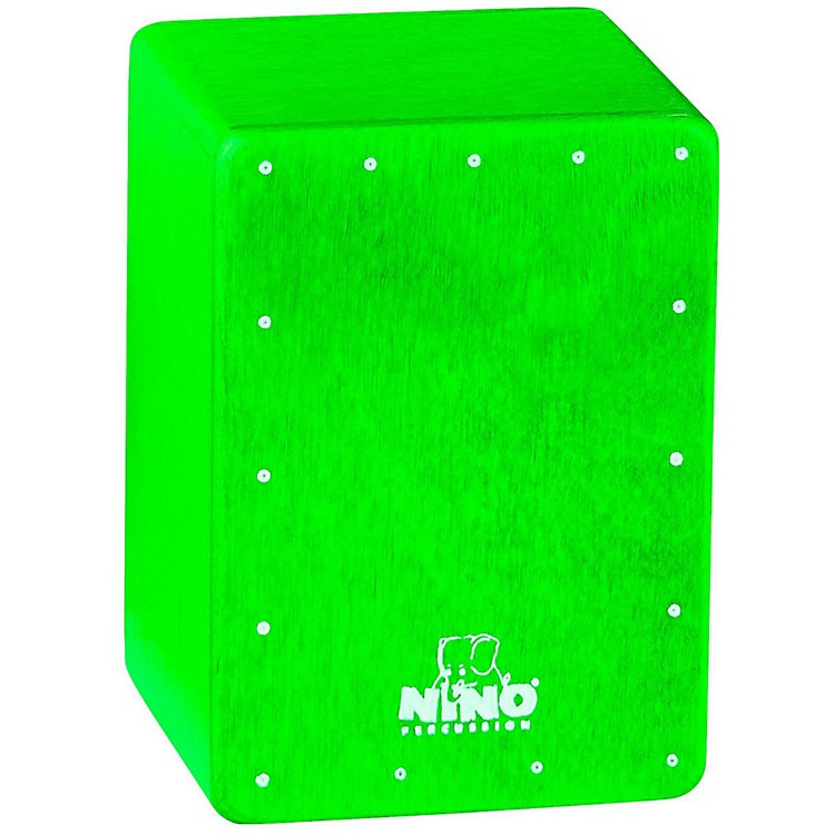 Nino Mini Cajon Shaker Green