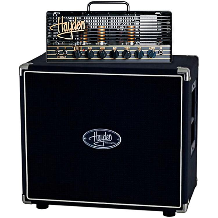 HaydenMini Mofo 15 15W Tube Guitar Amp Head with 112F-60 60W 1x12 Guitar Speaker Cabinet