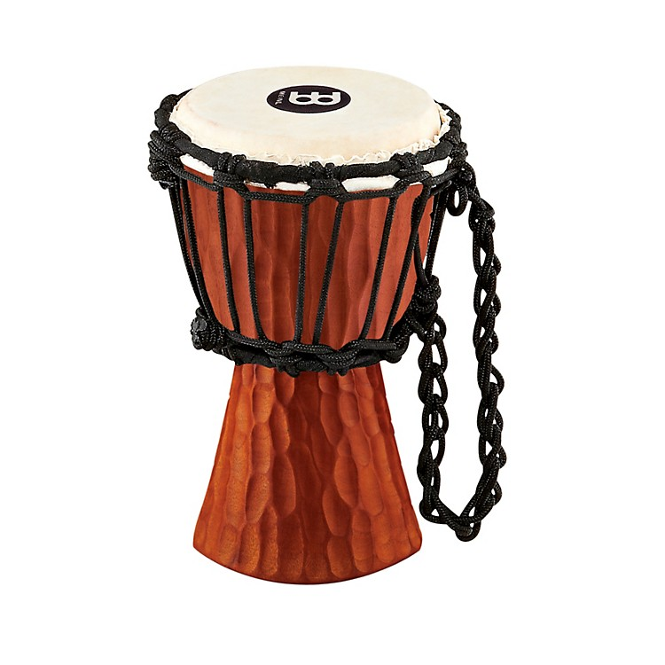Meinl Mini Nile Series Djembe Natural Mahogany