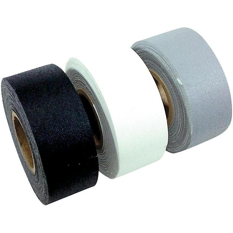 American Recorder TechnologiesMini Roll Gaffers Tape 1 In x 8 Yards - Black, White, Gray