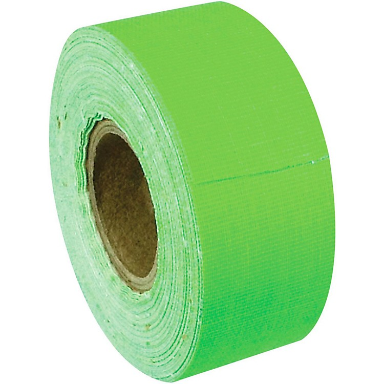 American Recorder TechnologiesMini Roll Gaffers Tape 1 In x 8 Yards Florscent ColorsNeon Green
