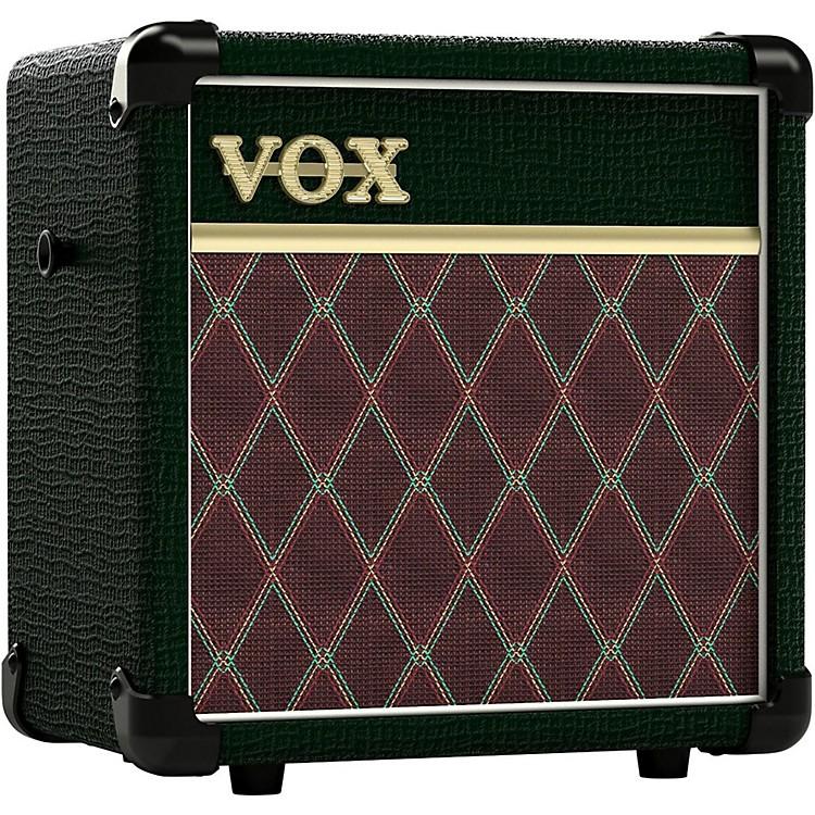 VoxMini5 BRG 5W 1x6.5 Modeling Guitar Combo AmplifierBritish Racing Green