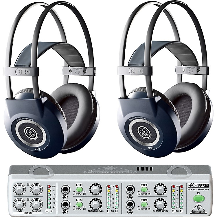 AKGMiniAMP/K99 Headphone Two Pack