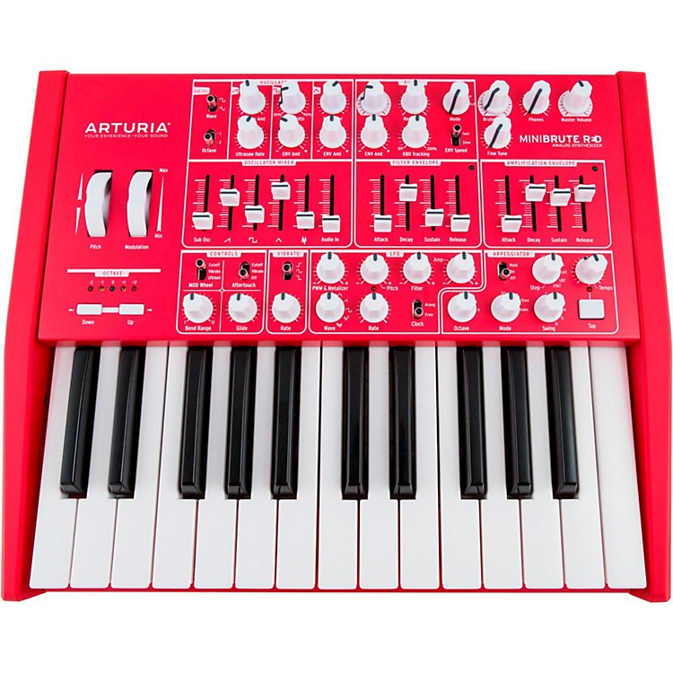 ArturiaMiniBrute Analog Synthesizer RED EditionRed