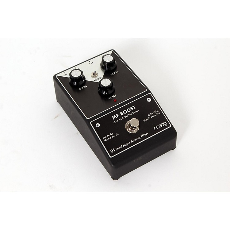Moog Minifooger Boost Guitar Effects Pedal  888365609669