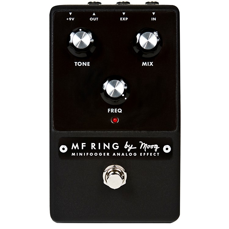 Moog Minifooger Ring Guitar Modulator Ring Effects Pedal