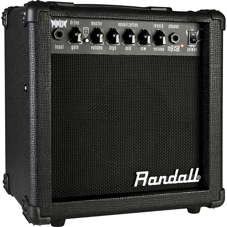 Randall Minion Series MR15R 15W 1x6.5 Guitar Combo Amp Black