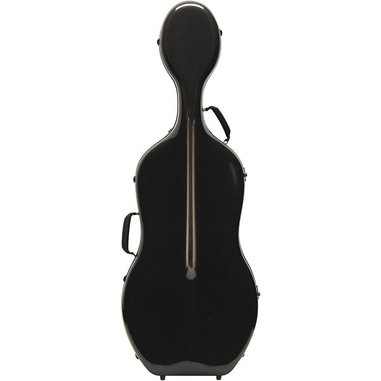 Otto Musica Mirage Series Carbon Hybrid Cello Case 4/4 Black