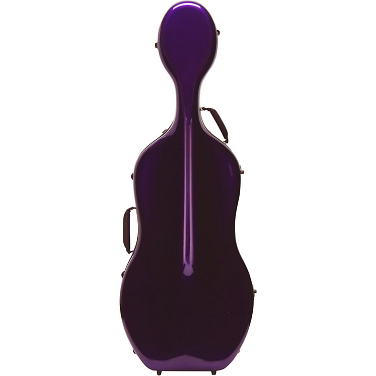 Otto Musica Mirage Series Carbon Hybrid Cello Case 4/4 Purple
