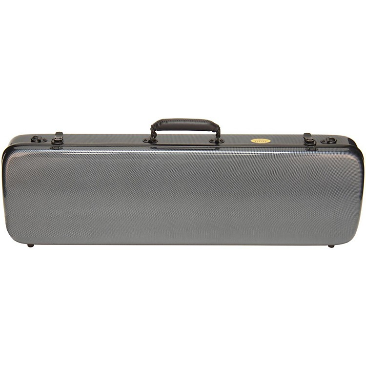 Otto Musica Mirage Series Carbon Hybrid Violin Case 4/4 Silver Gray