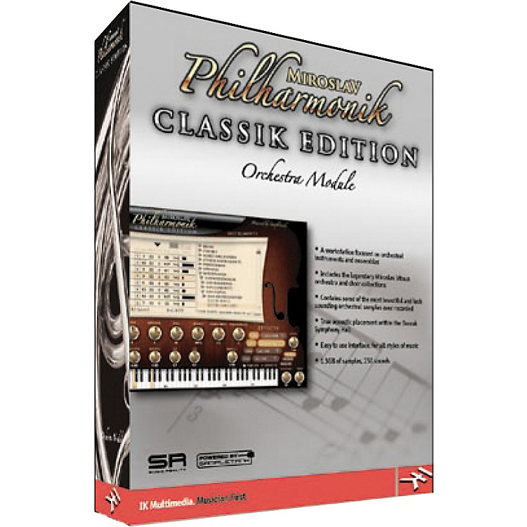 IK Multimedia Miroslav Philharmonik Classik Edition Orchestral Virtual Instrument Module
