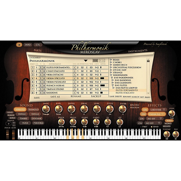 IK Multimedia Miroslav Philharmonik Virtual Instrument Crossgrade for Sample Tank 2 L/XL Users