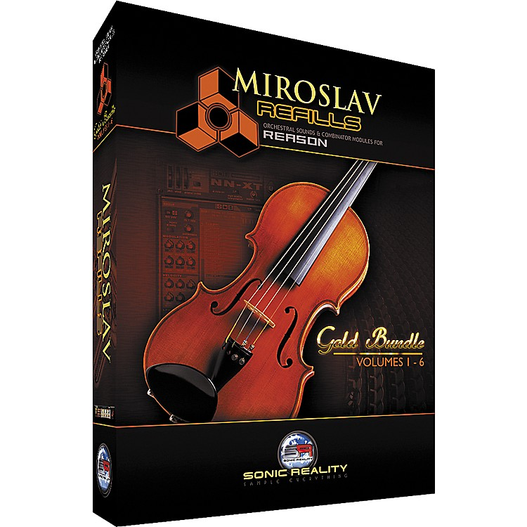 IK Multimedia Miroslav Refills Gold Bundle - Includes Volumes 1 to 6