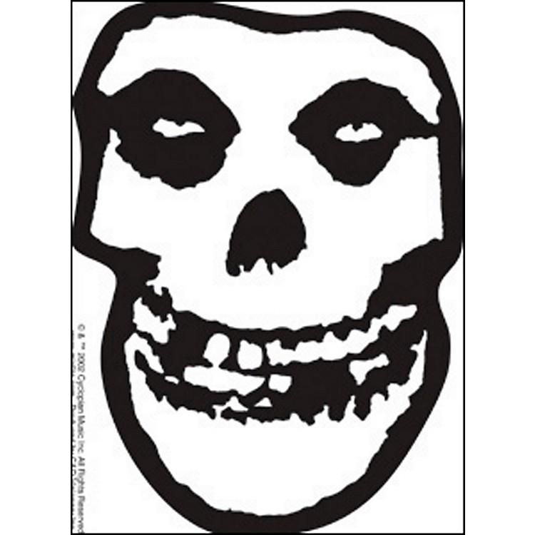 C&D VisionaryMisfits Skull Sticker