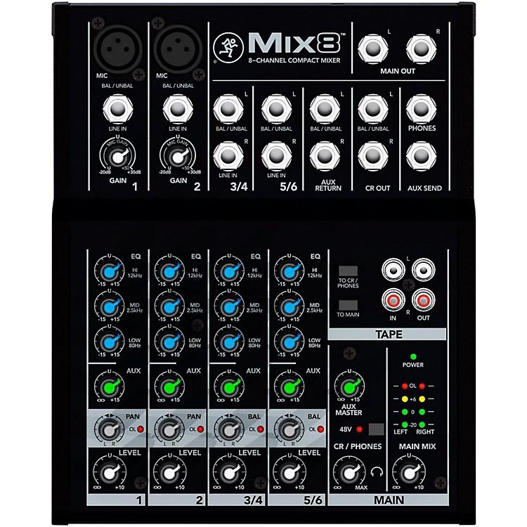 MackieMix8 8-Channel Compact Mixer