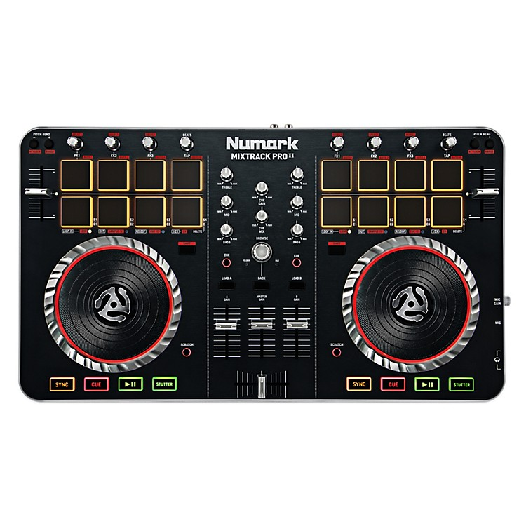 Numark MixTrack Pro II DJ Controller with Audio I/O