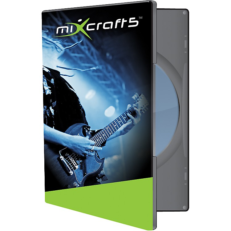 Acoustica Mixcraft 5 Audio MIDI Music Recording Software