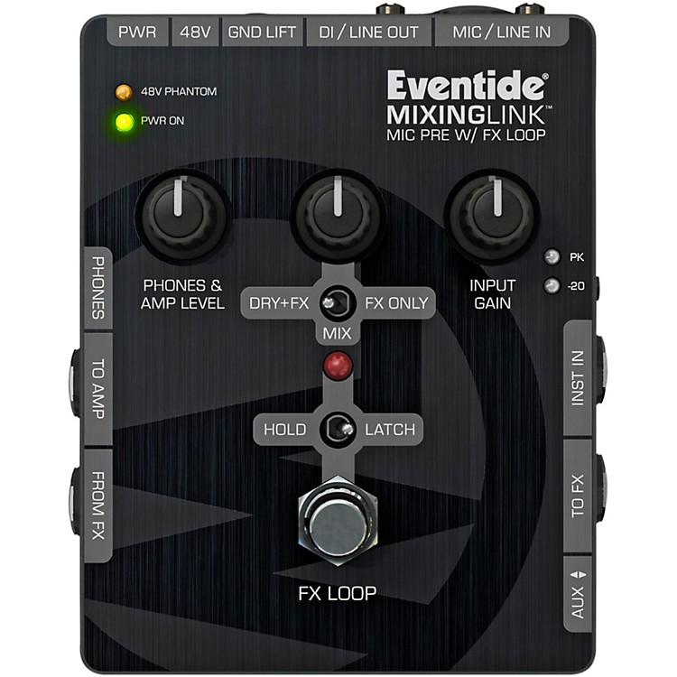 EventideMixingLink Guitar Effects Pedals Mic Pre with FX Loop