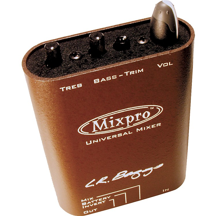 LR BaggsMixpro Universal Belt Clip Acoustic Guitar Mixer and Preamp