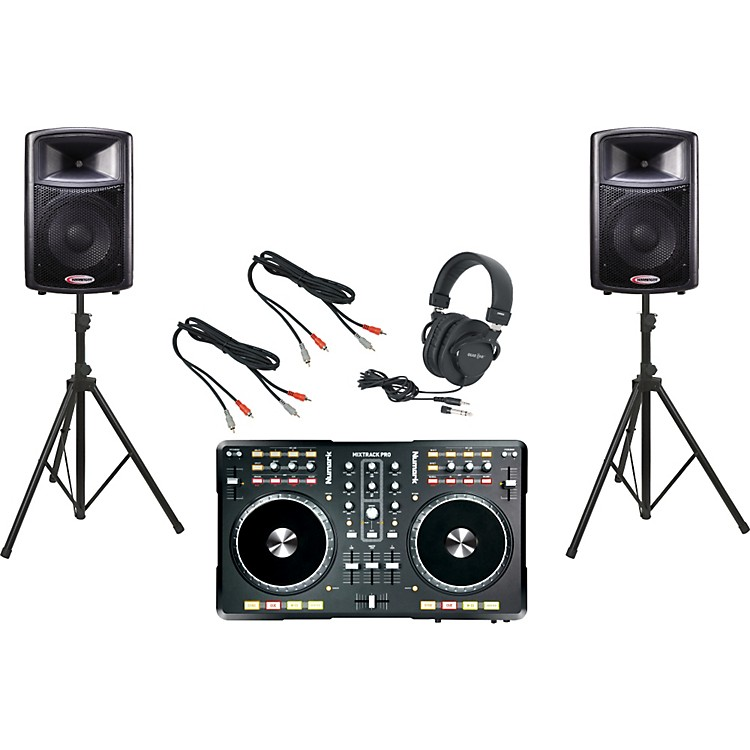 Numark Mixtrack Pro / Harbinger APS12 DJ Package