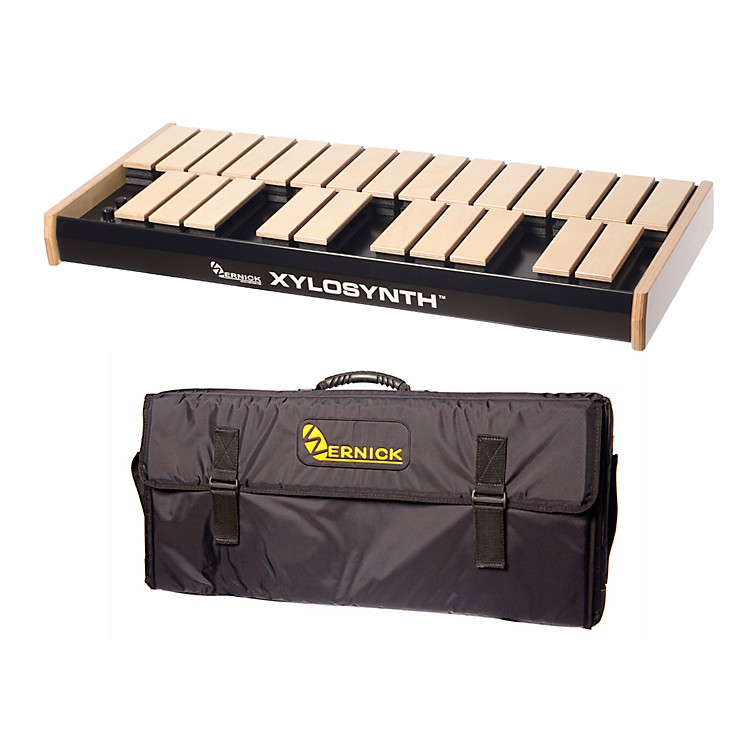 WernickMkVI Blonde Birch Xylosynth w/Button Control, LED Display and Soft Bag