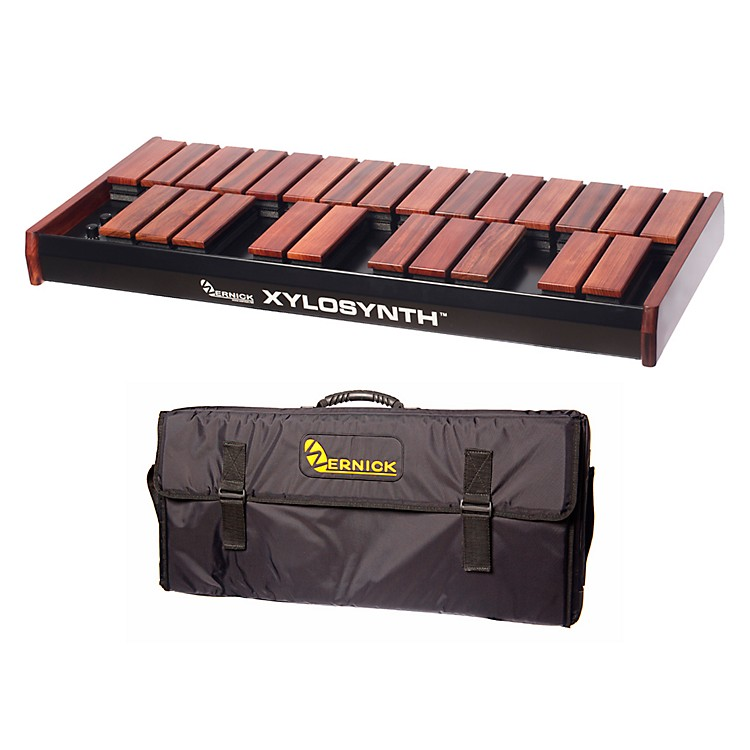 Wernick MkVI Bubinga Xylosynth w/LED Display and Soft Bag
