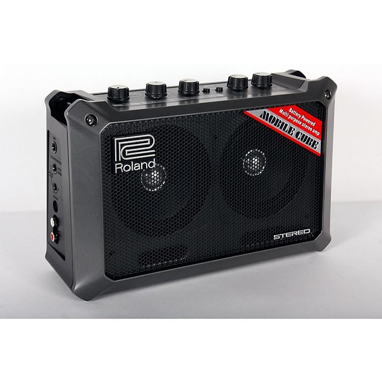 RolandMobile Cube Battery-Powered Stereo Guitar Combo AmpBlack888365848976