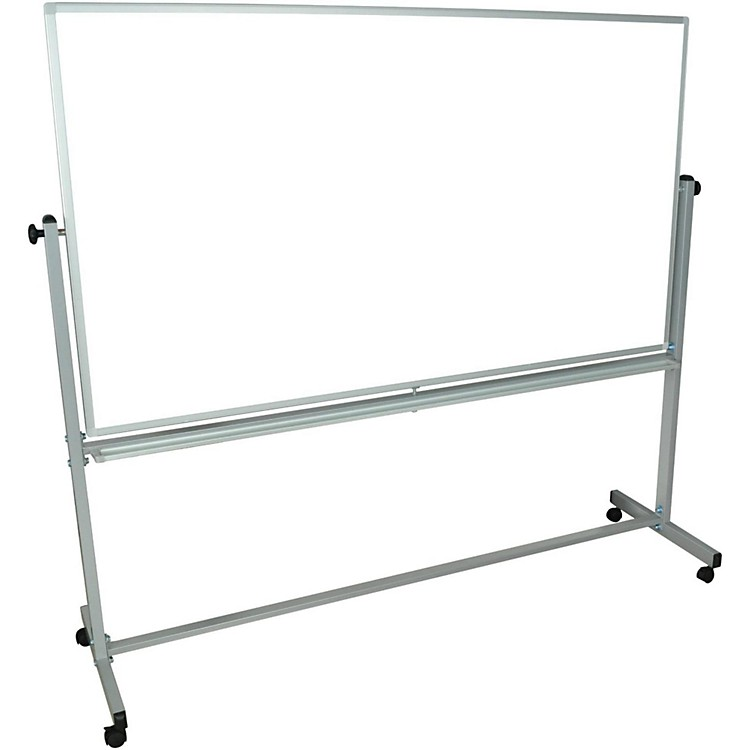 H. Wilson Mobile Double Sided Whiteboard