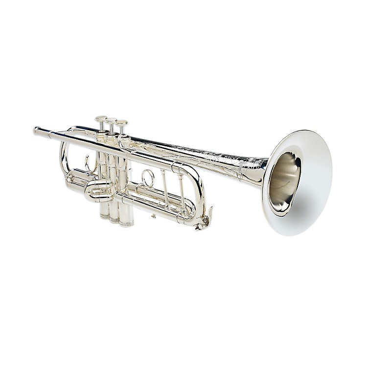 S.E. SHIRES Model B Bb Trumpet B-SP Silver