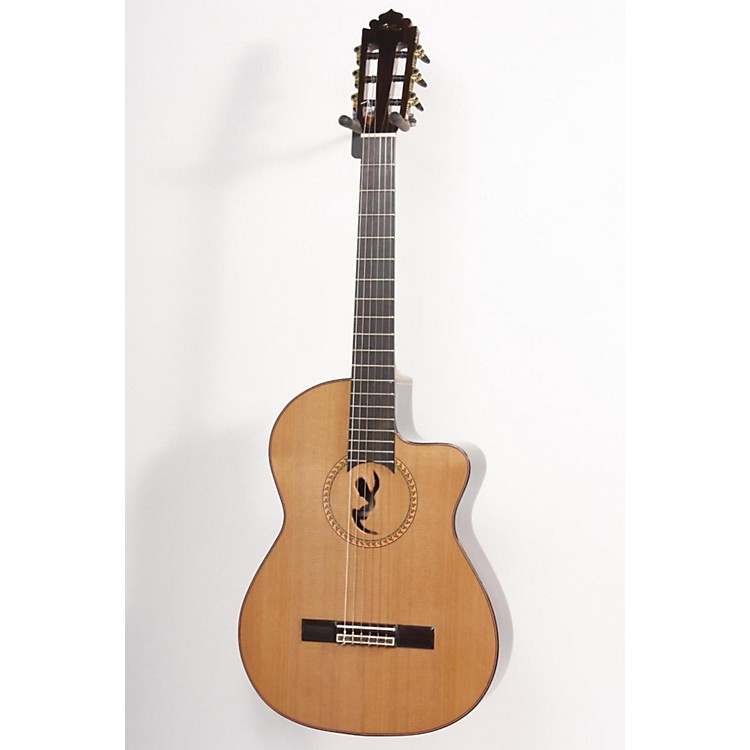 Manuel Rodriguez Model B Cutaway Boca M.R. Nylon-String Acoustic-Electric Guitar Regular 886830745973