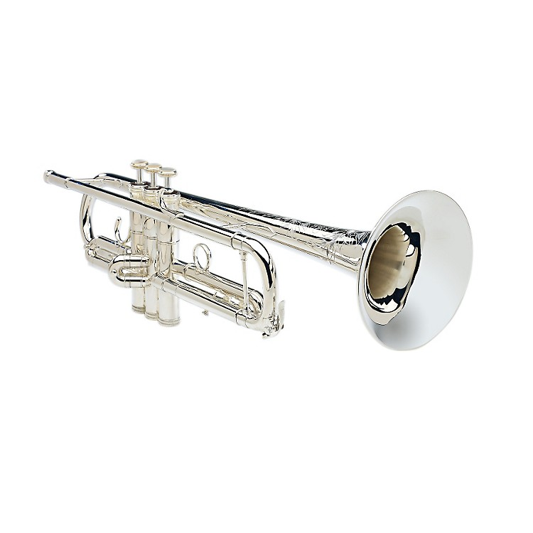 S.E. SHIRES Model CLW Bb Trumpet CLW-SP Silver