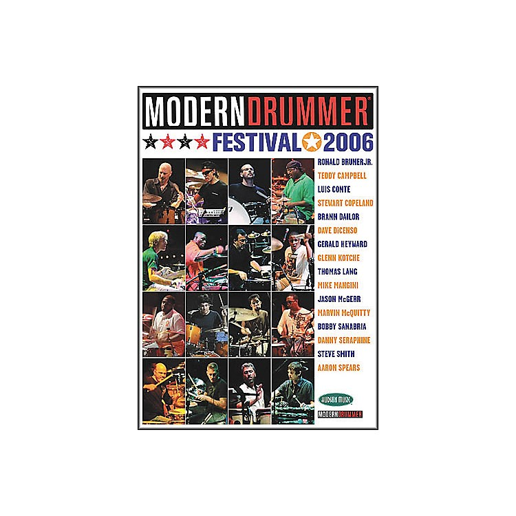 Hudson Music Modern Drummer Festival 2006 - Saturday/Sunday (4-DVD Package)