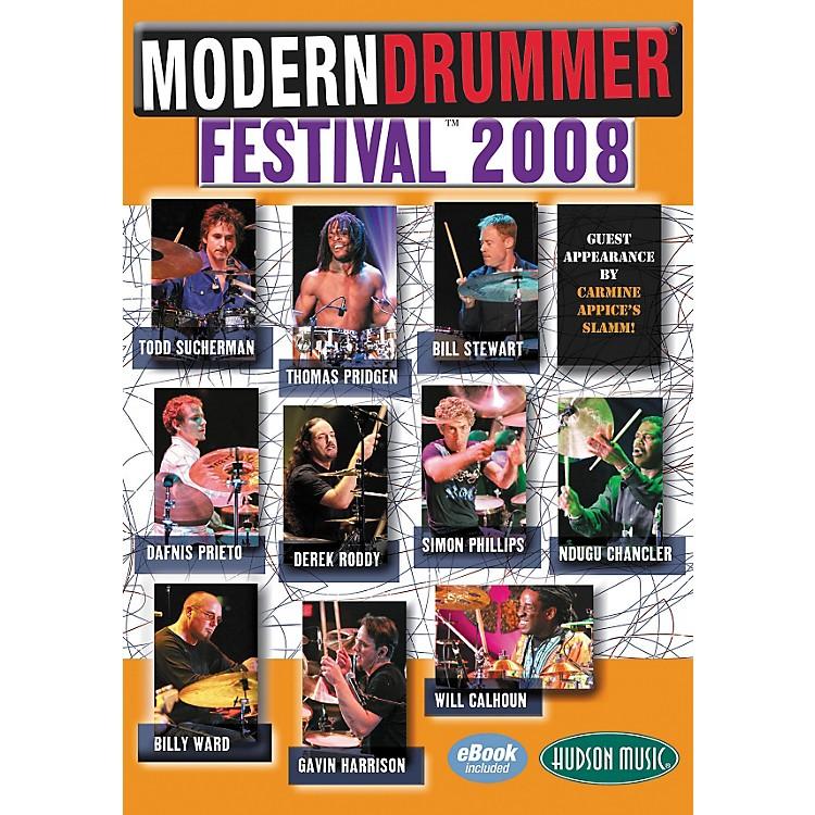 Hudson MusicModern Drummer Festival 2008 4-DVD Package