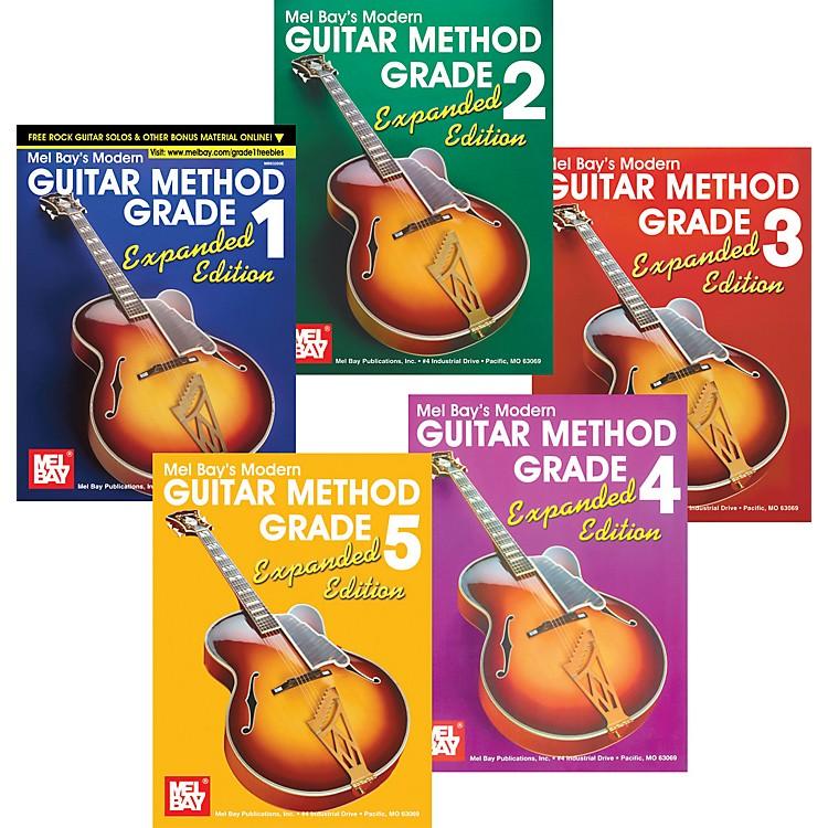 Mel BayModern Guitar Method Expanded Edition Grades 1-5