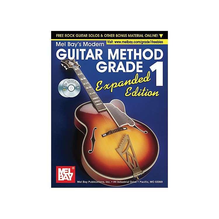 Mel Bay Modern Guitar Method Expanded Edition Vol. 1 Book/2 CD Set