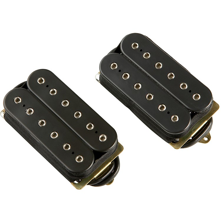 DiMarzio Modern Metal Humbucker Pre-Wired Pickup Set - Long Shaft Pots