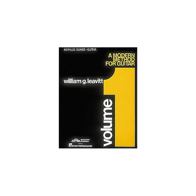 Berklee PressModern Method for Guitar Volume 1