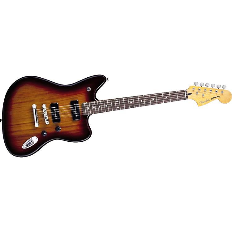 FenderModern Player Jaguar Electric Guitar2-Color Chocolate BurstRosewood Fretboard