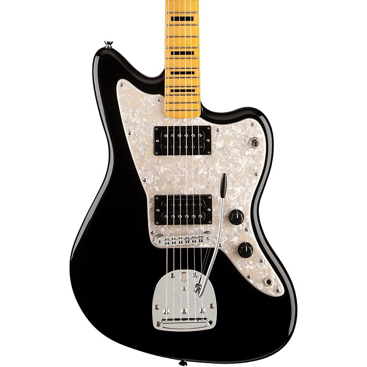 Fender Modern Player Jazzmaster HH with Maple Fingerboard Electric Guitar Black Maple Fingerboard