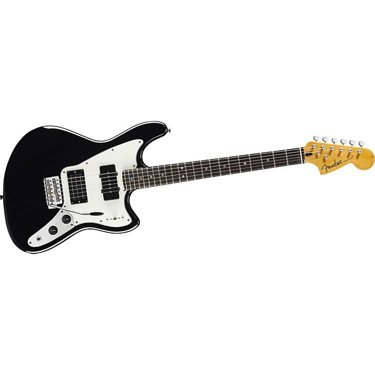 Fender Modern Player Marauder Electric Guitar Black Rosewood Fretboard