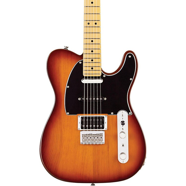 Fender Modern Player Telecaster Plus Electric Guitar Honey Burst Maple Fretboard