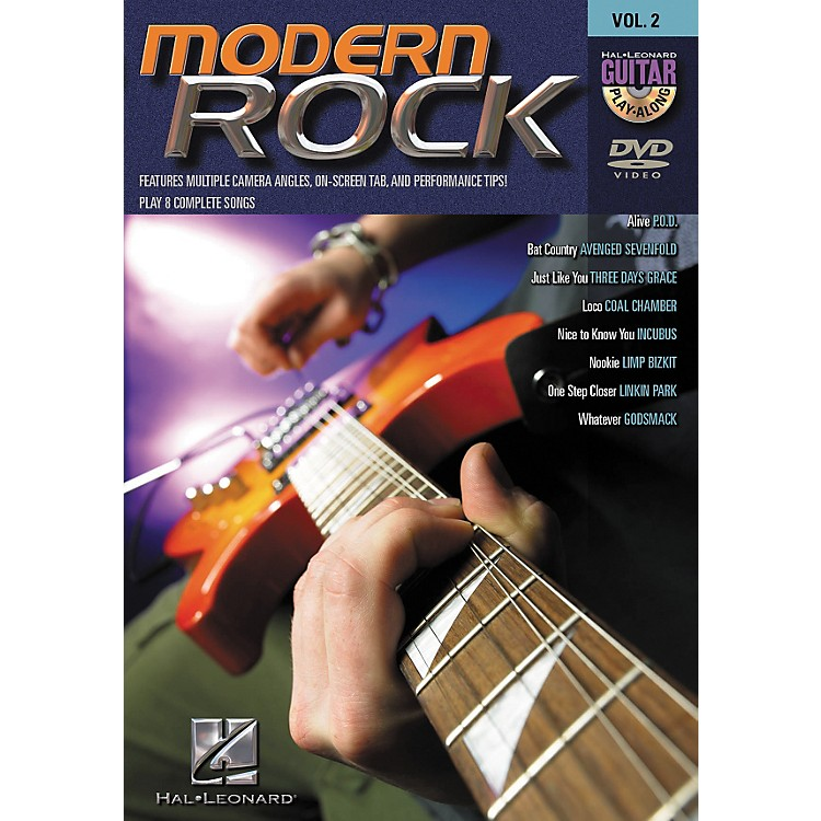 Hal LeonardModern Rock Guitar Play-Along Series Volume 2 DVD