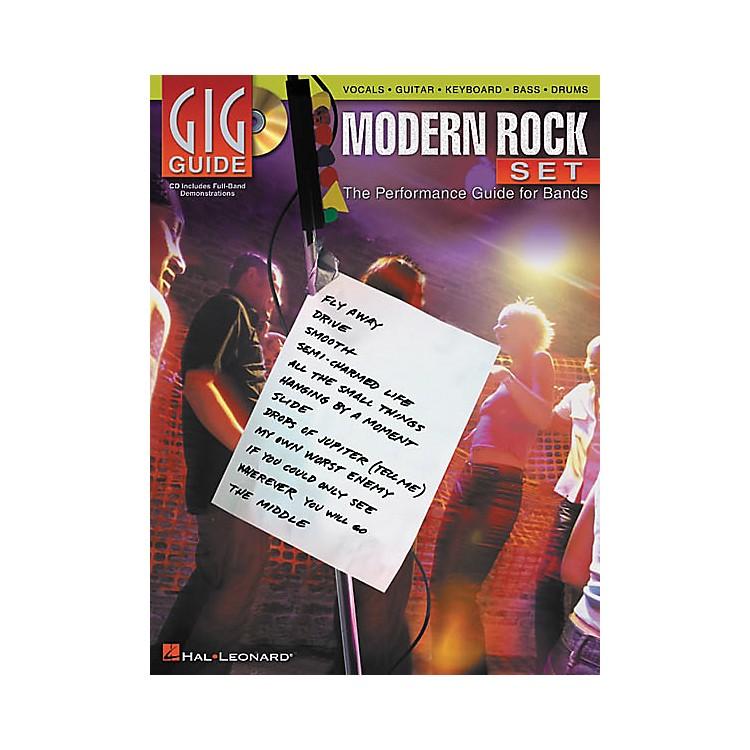 Hal LeonardModern Rock Set Gig Guide (Book/CD)
